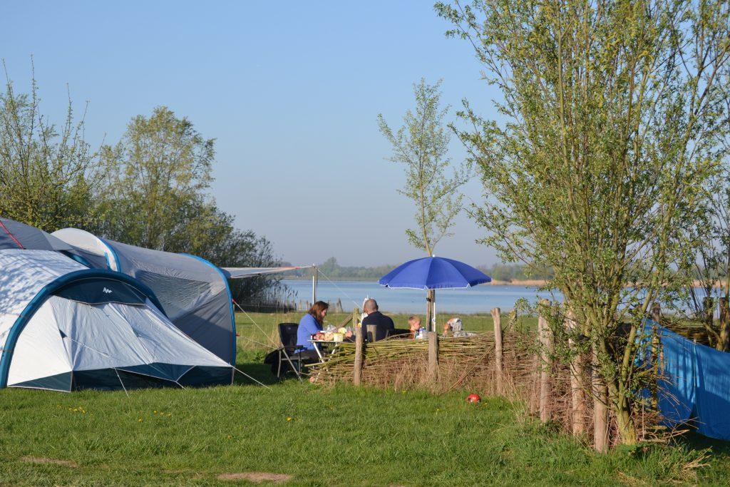Camping terrein Biesbosch