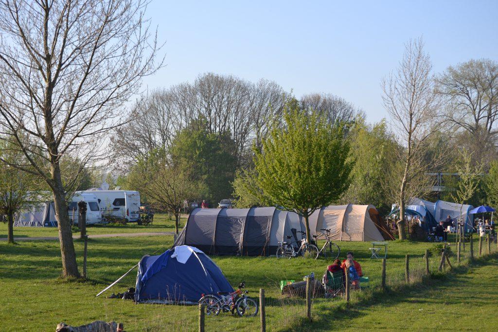 Natuur camping terrein